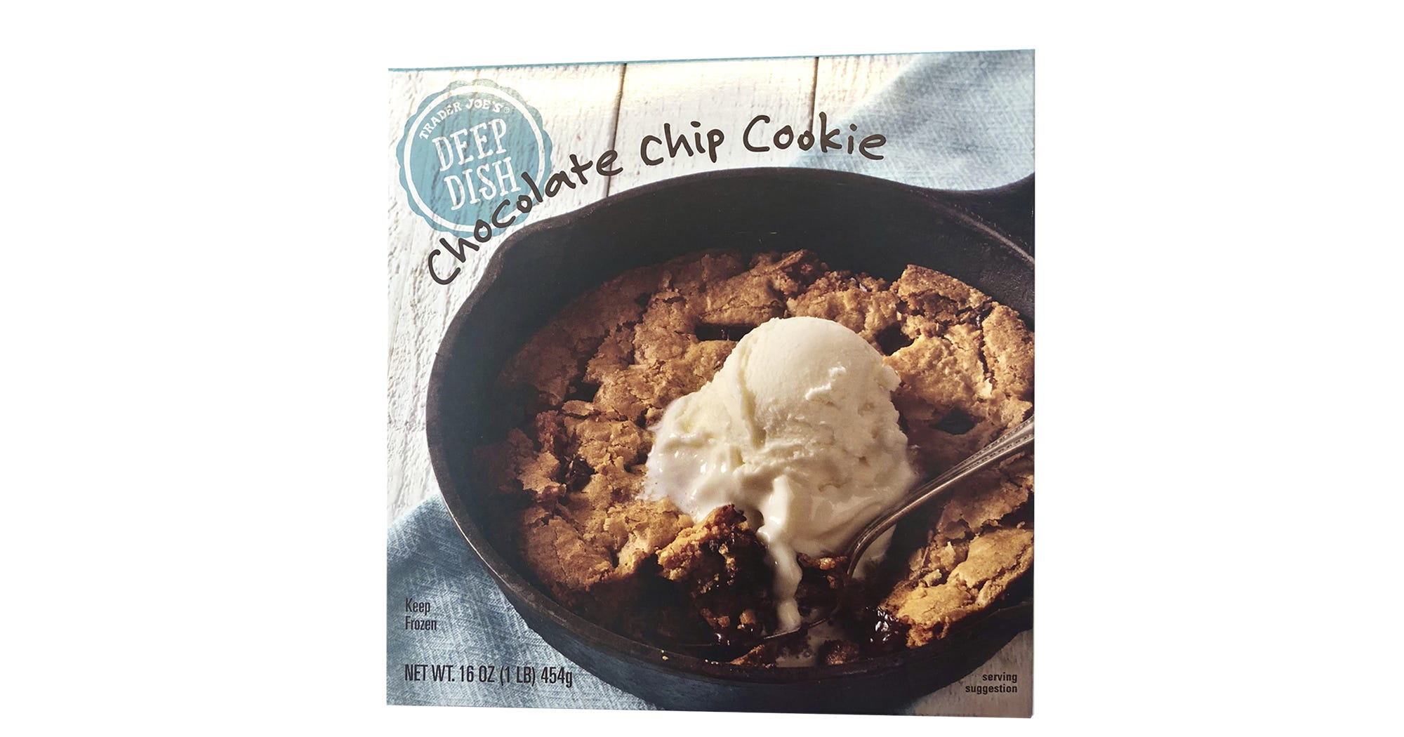 Trader Joes New Deep Dish Chocolate Chip Cookie Review