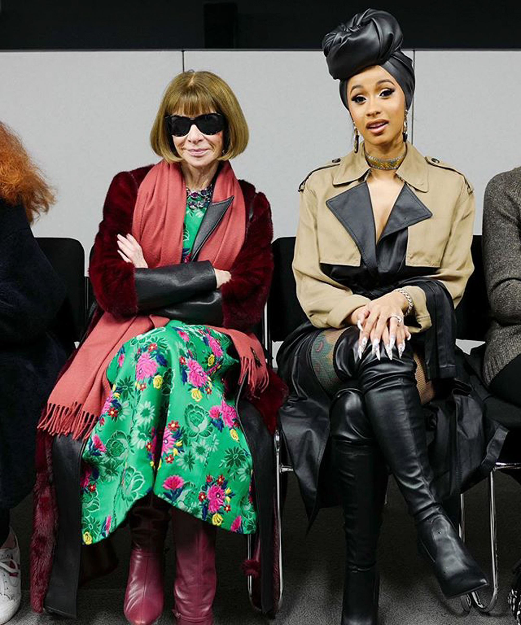 Best 5 instagrams anna wintour memes recommend to wear in autumn in 2019