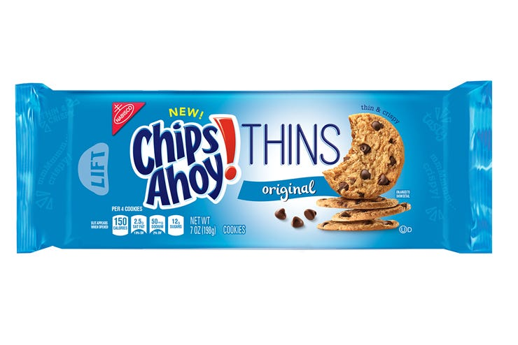 new chips ahoy thins