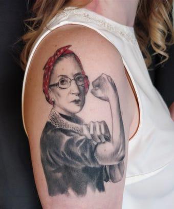 rbg ruth bader ginsburg tattoo