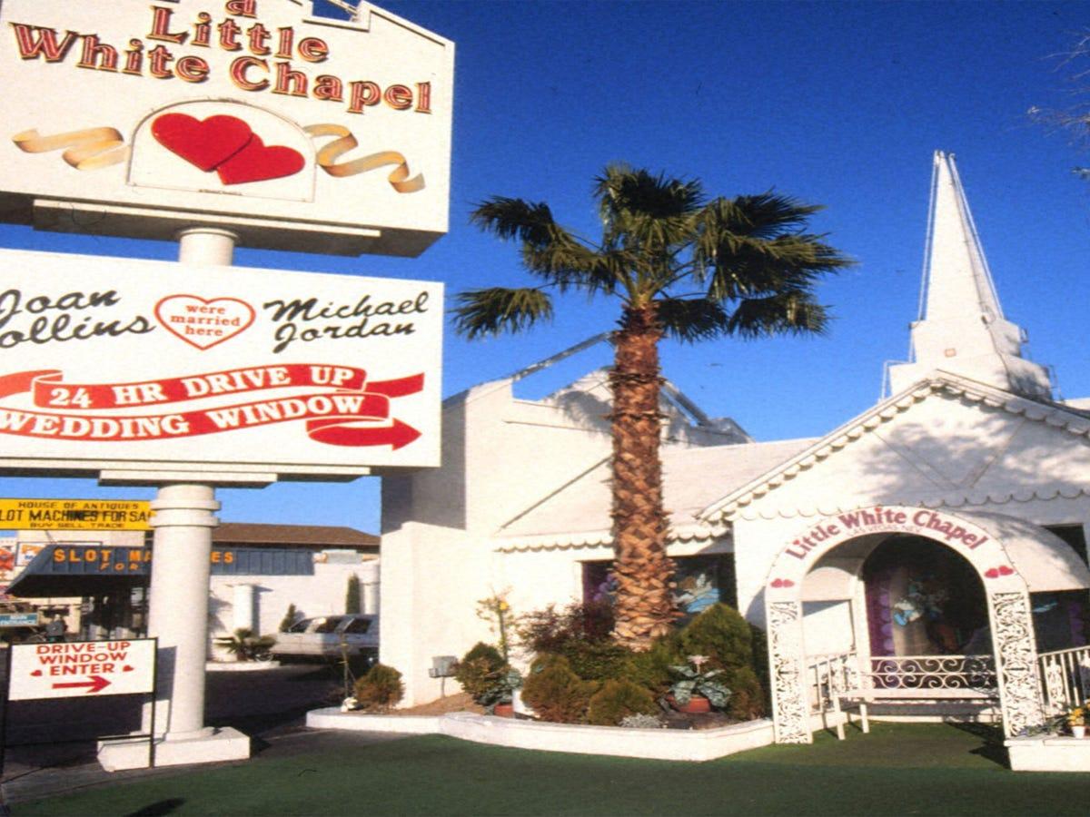 Little White Wedding Chapel.Joe Jonas Sophie Turner S Wedding Chapel Has A Long Hollywood History