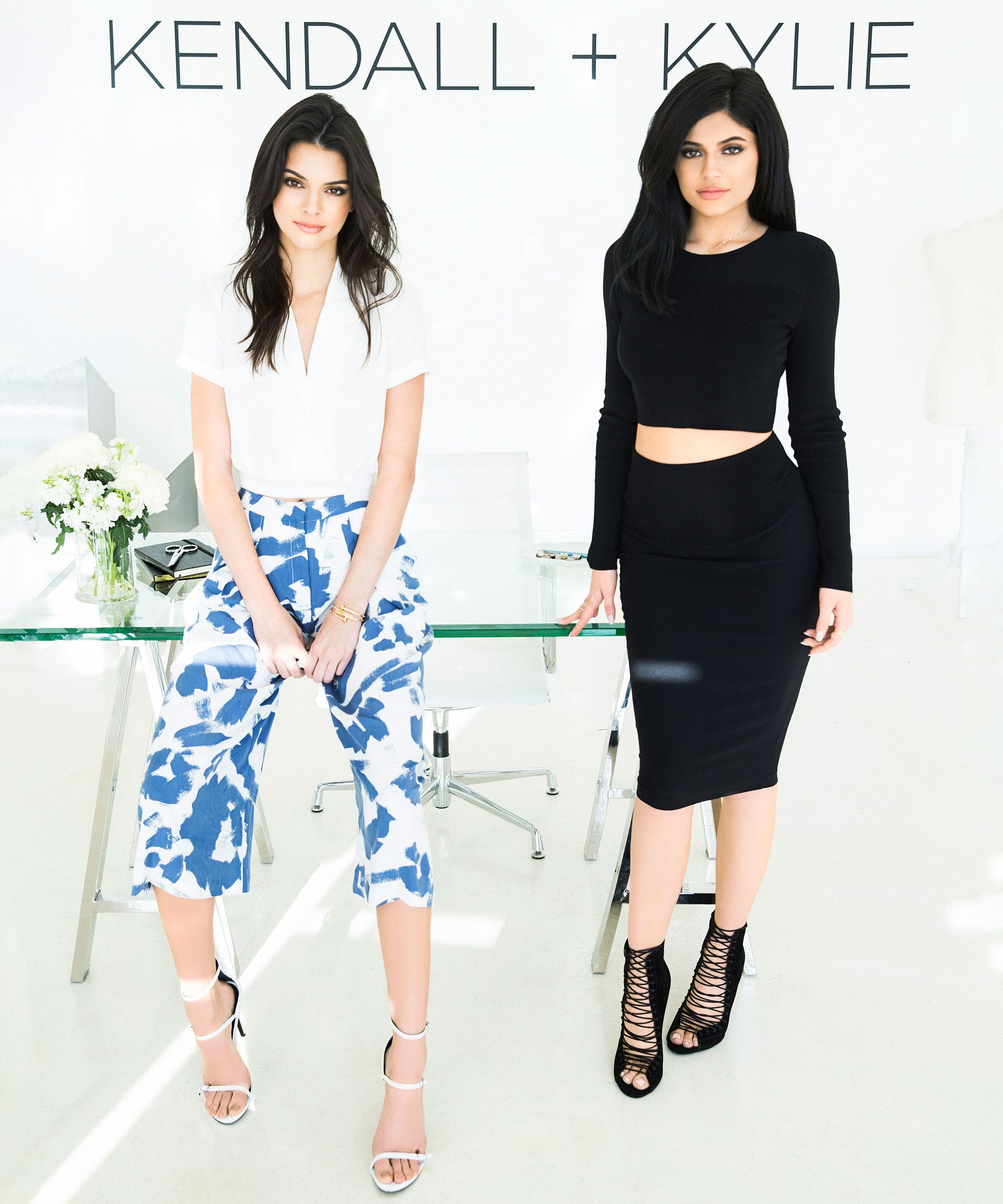 8c4612ddbc6 Your First Look At Kendall + Kylie s Debut Collection