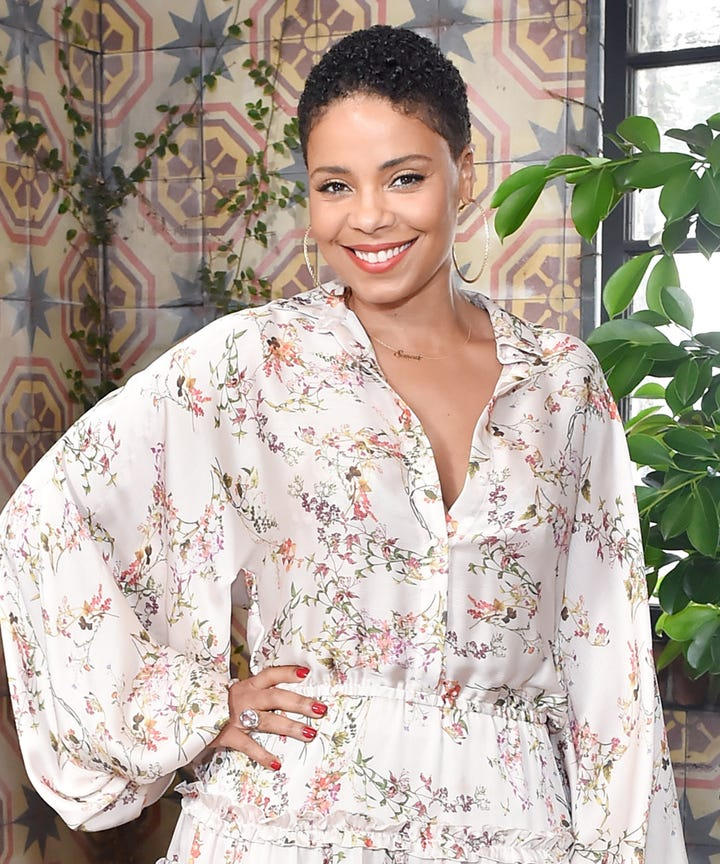 Why Sanaa Lathan Shaved Her Head For Nappily Ever After