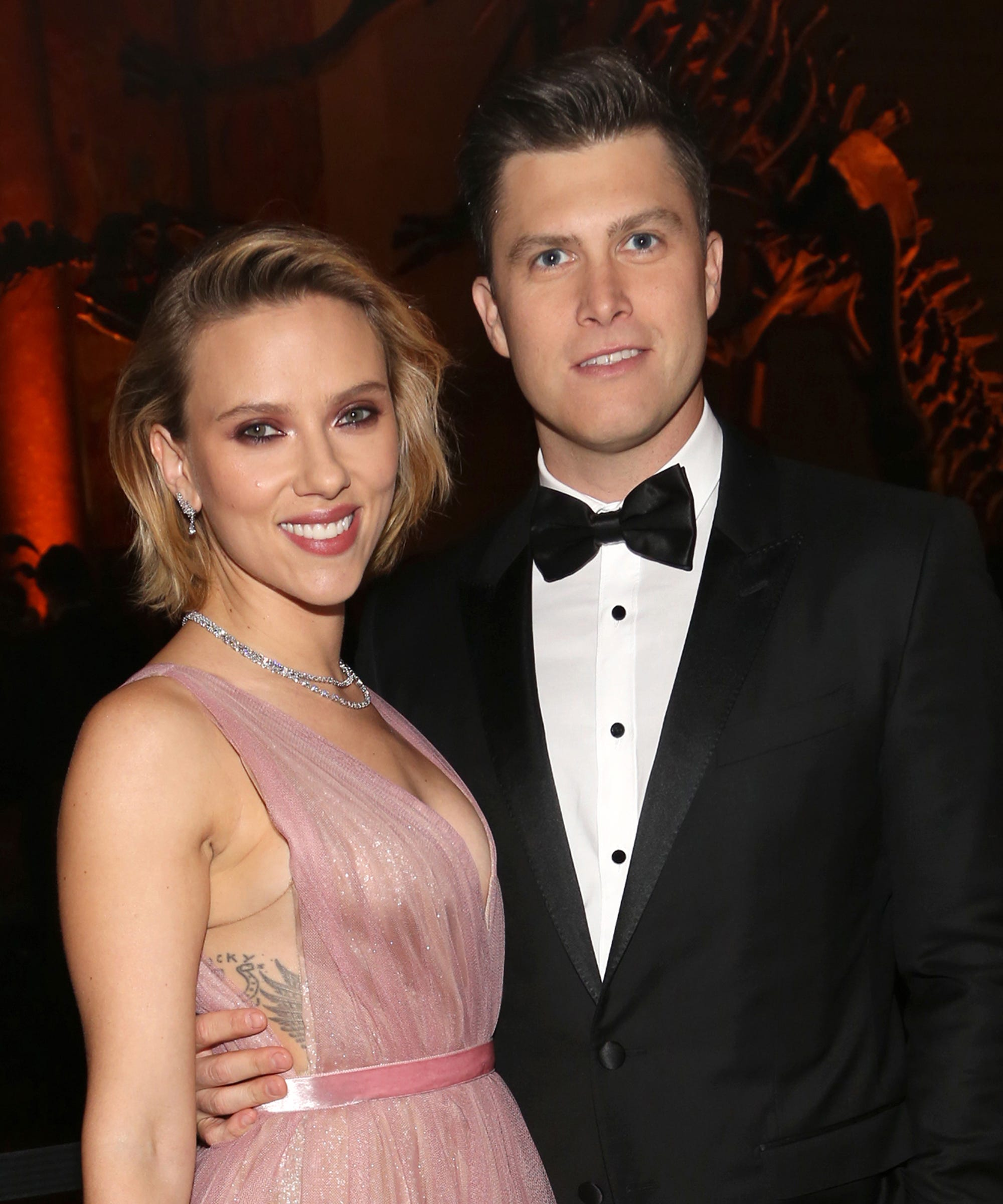 Scarlett Johansson's Blinding 11-Carat Engagement Ring Is Convincing Us To Ditch Traditional Rings