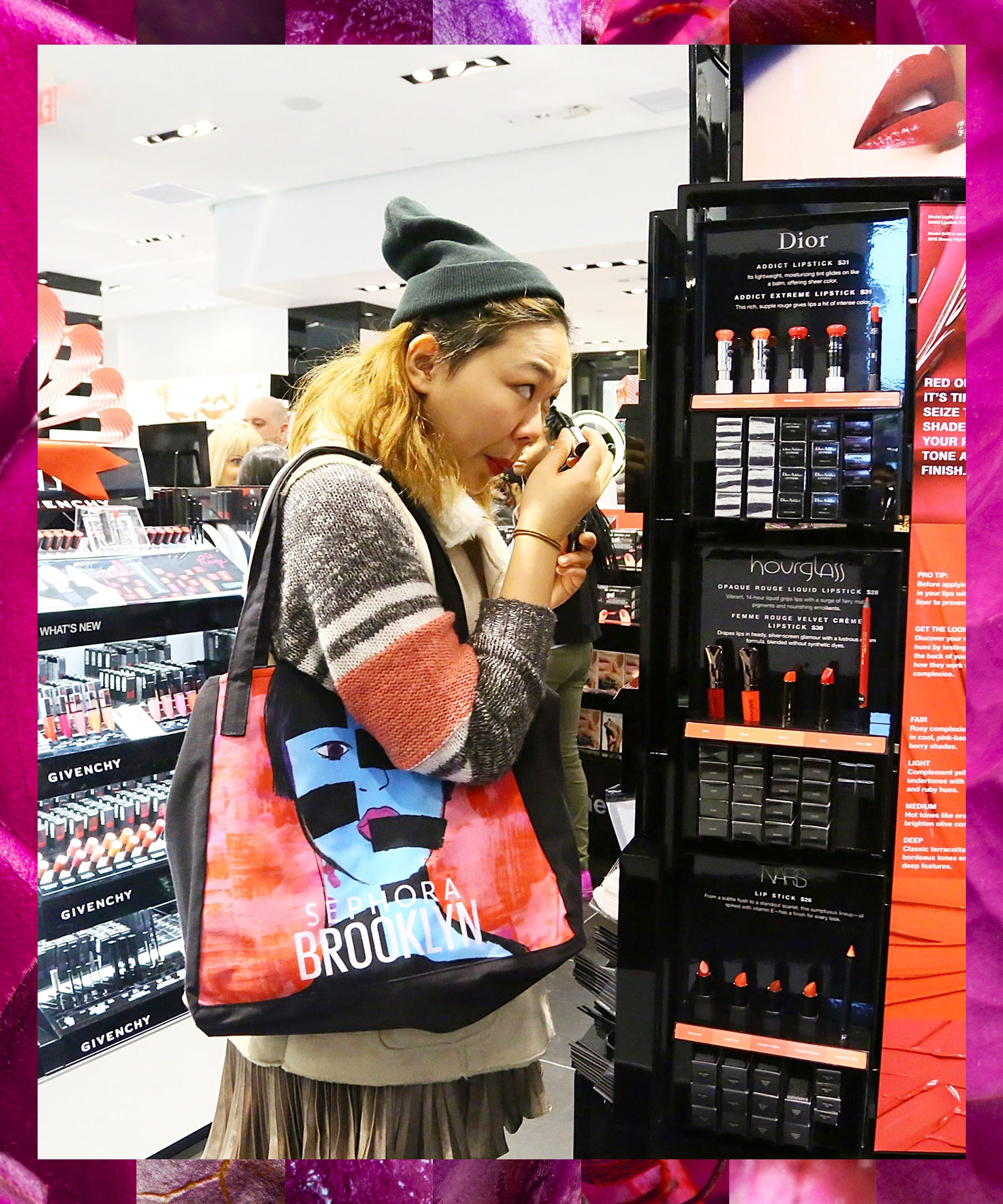 What Sephora Staffers Really Think When You Do Your Makeup In The Store