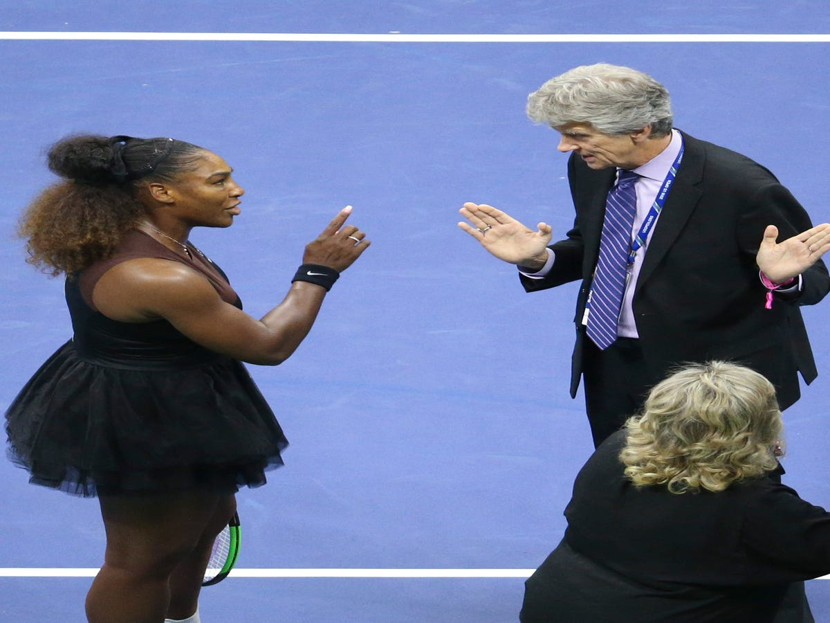 """The U.S. Open Final Wasn't About A """"Meltdown."""" It Was About Sexism."""