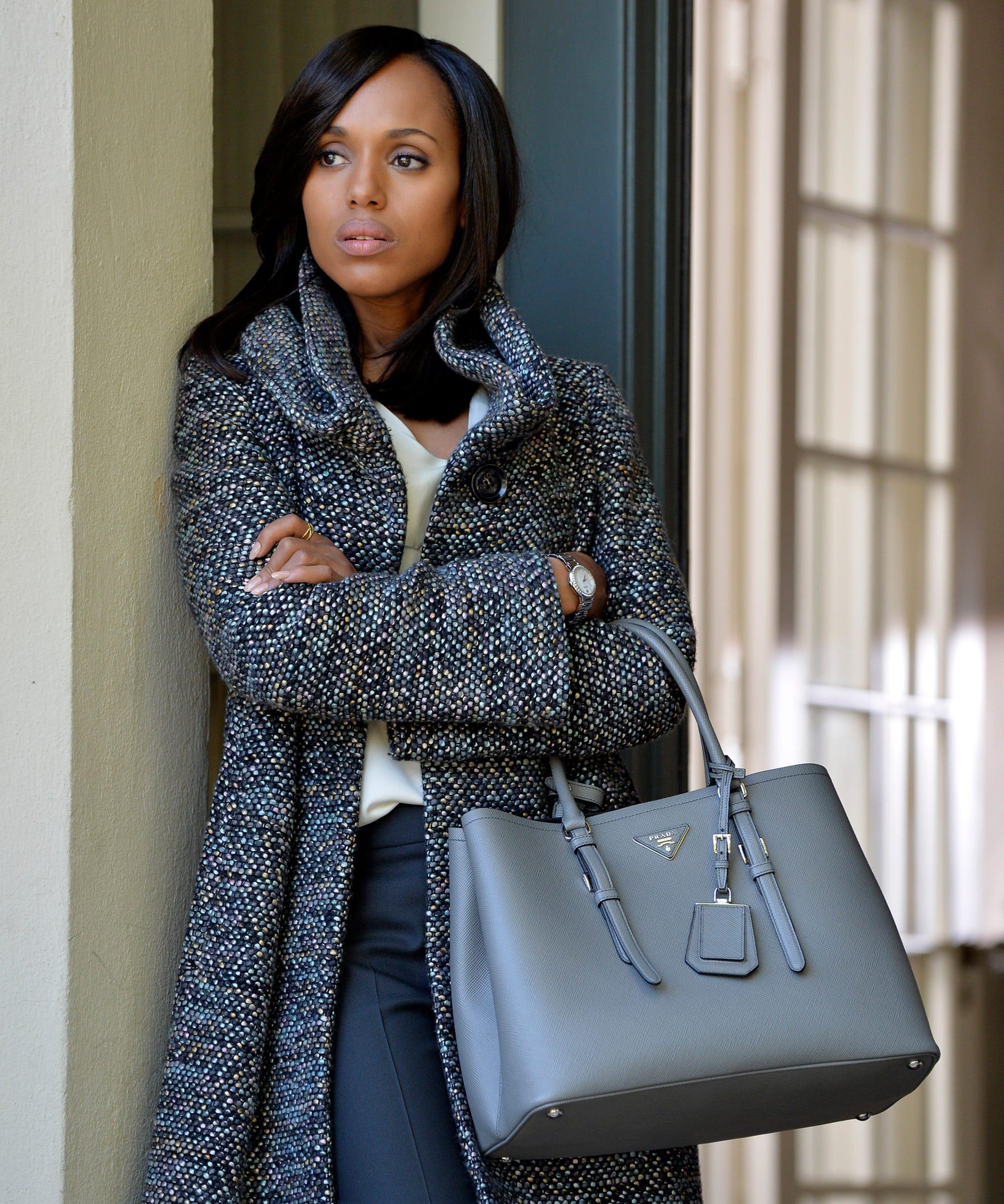e580726ec80f Why Olivia Pope Always Has A Prada Bag On Scandal