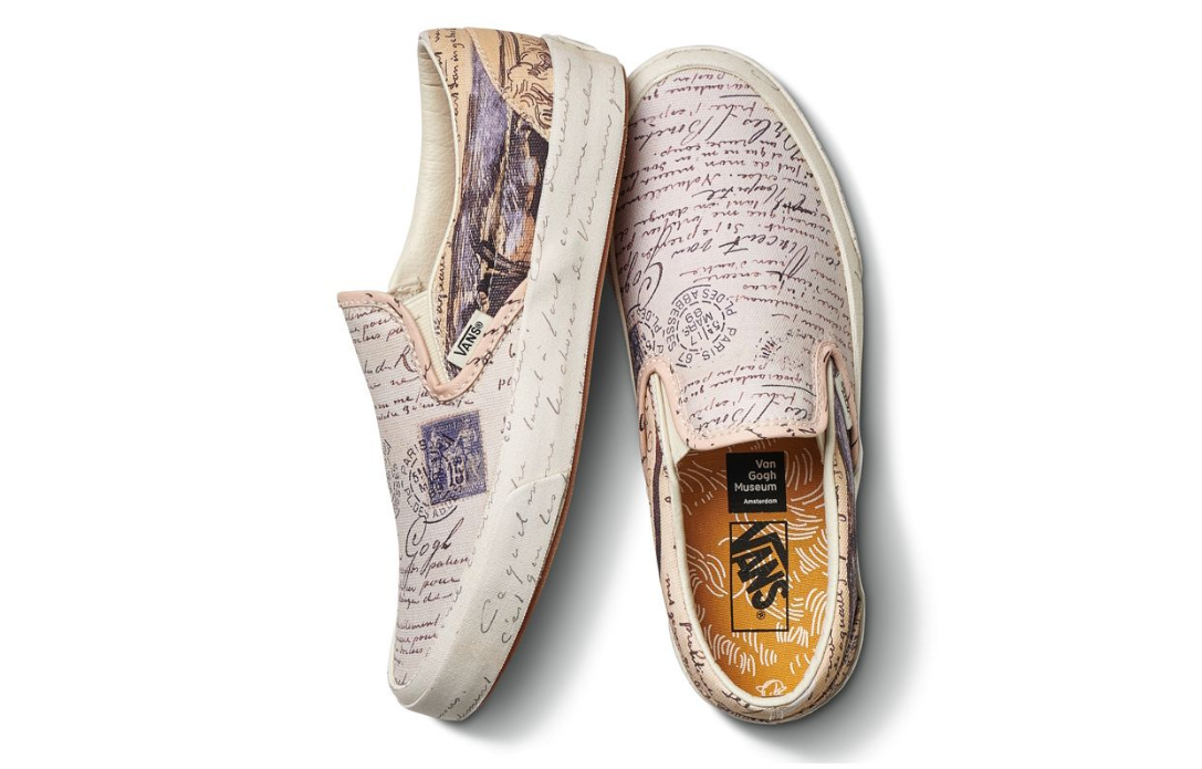 fa02168113b0 Vans x Van Gogh Sneaker   Clothing Collab Is Pure Art