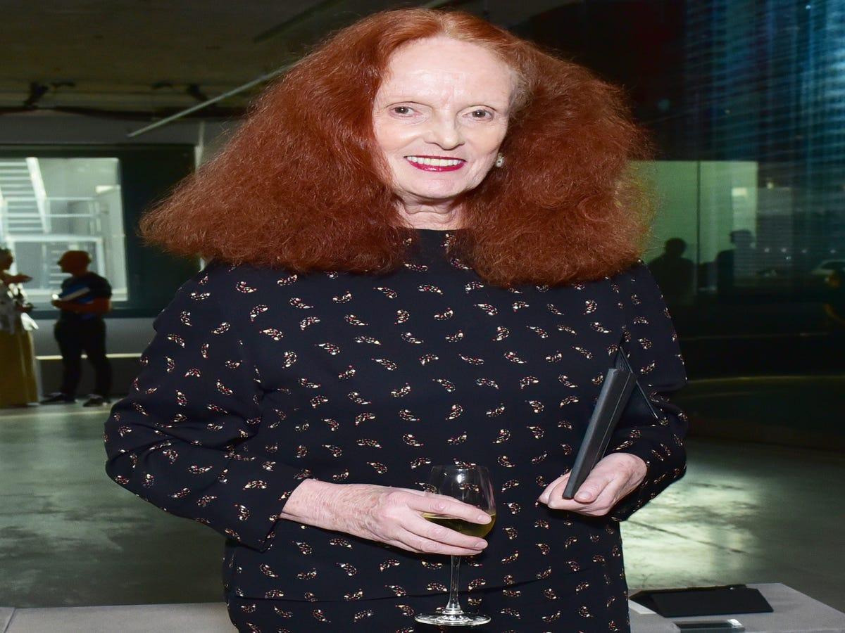 Grace Coddington Turned The Vuitton Runway Into An Actual Catwalk