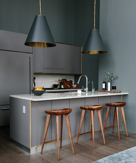 Kitchens To Inspire Your Own Remodel - Grey copper kitchen