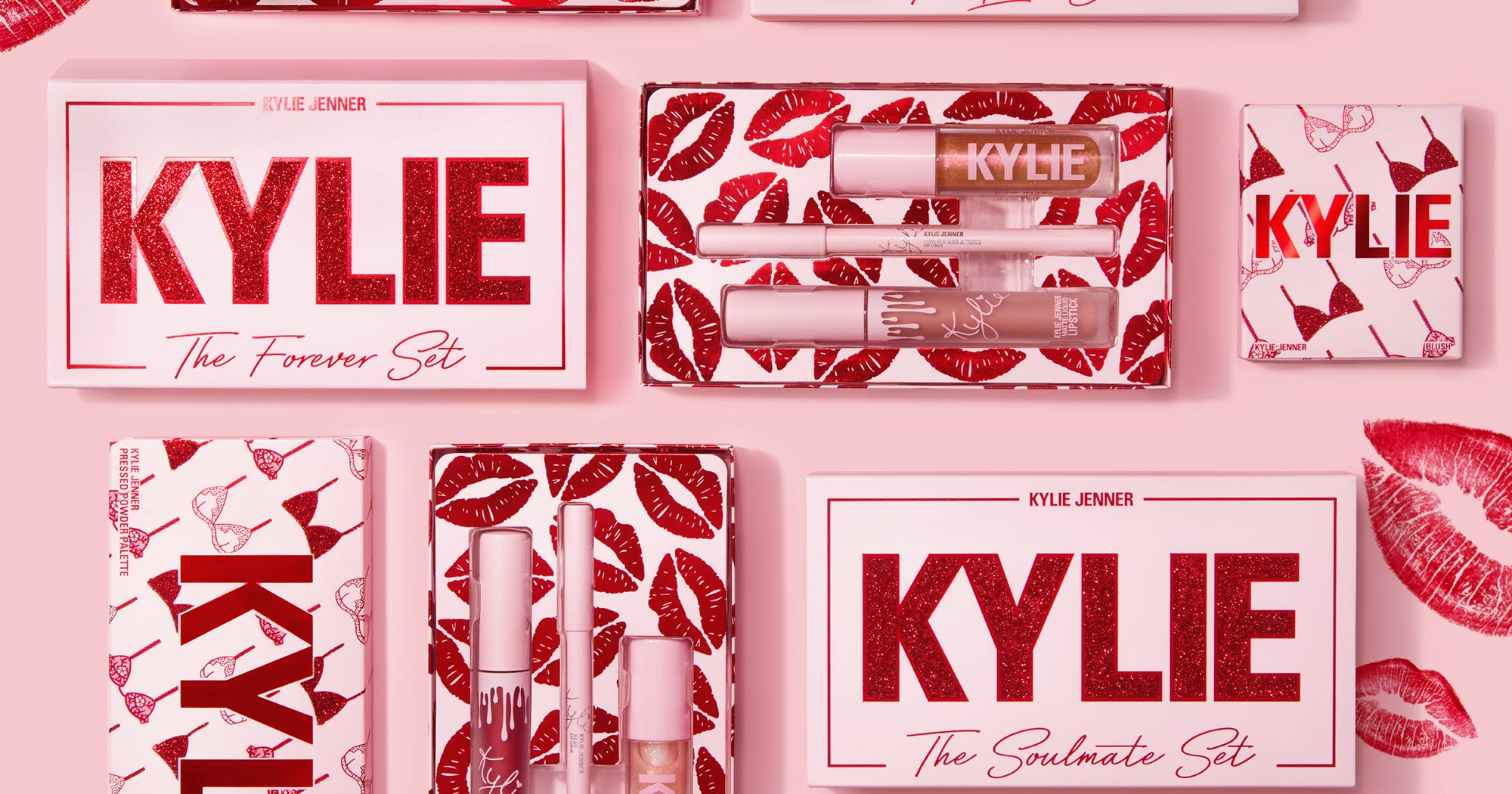 28cbe835563 Kylie Cosmetics Valentines Day Collection To Buy Now