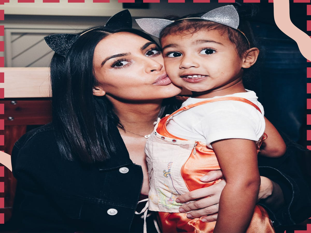Kim Kardashian Has Two Makeup Rules For North West