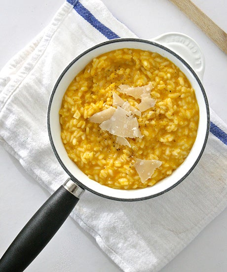 Fall's Ultimate Comfort Food: Pumpkin-Parmesan Risotto