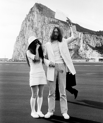 The Wedding Day Yoko Ono And John Lennon