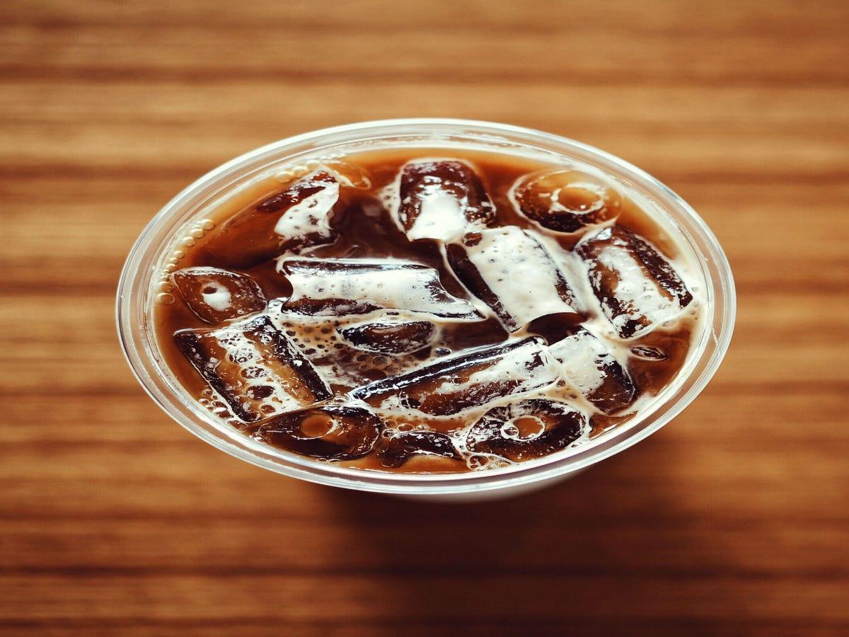 Starbucks Is Testing Coffee Ice