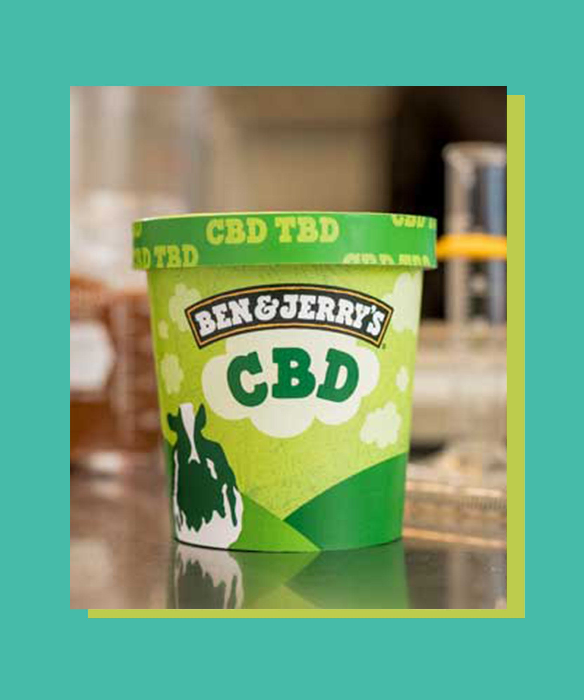 Ben & Jerry's Announces Plans To Help Everyone Chill Out With CBD-Infused Ice Cream