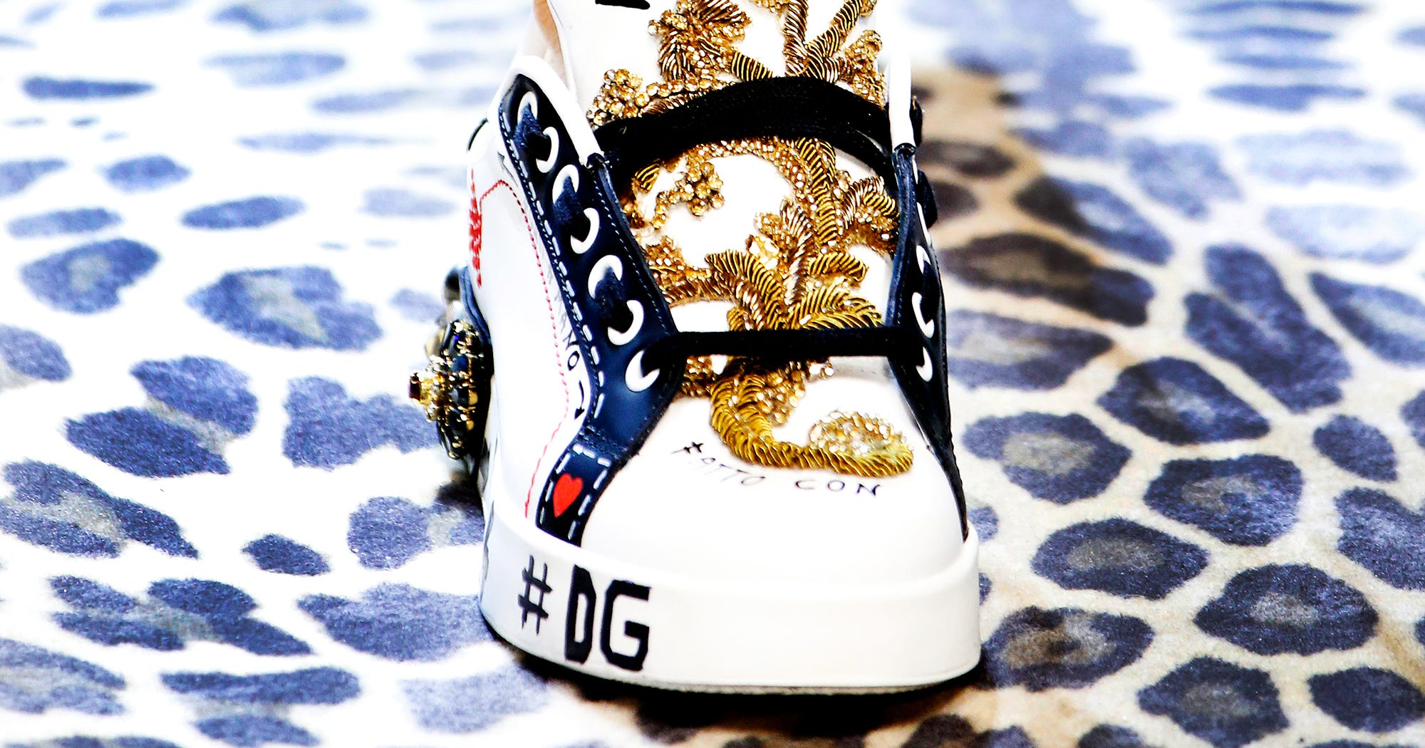 9b316dfff97 Dolce Gabbana Thin Gorgeous Sneaker Fall 2017 Backlash