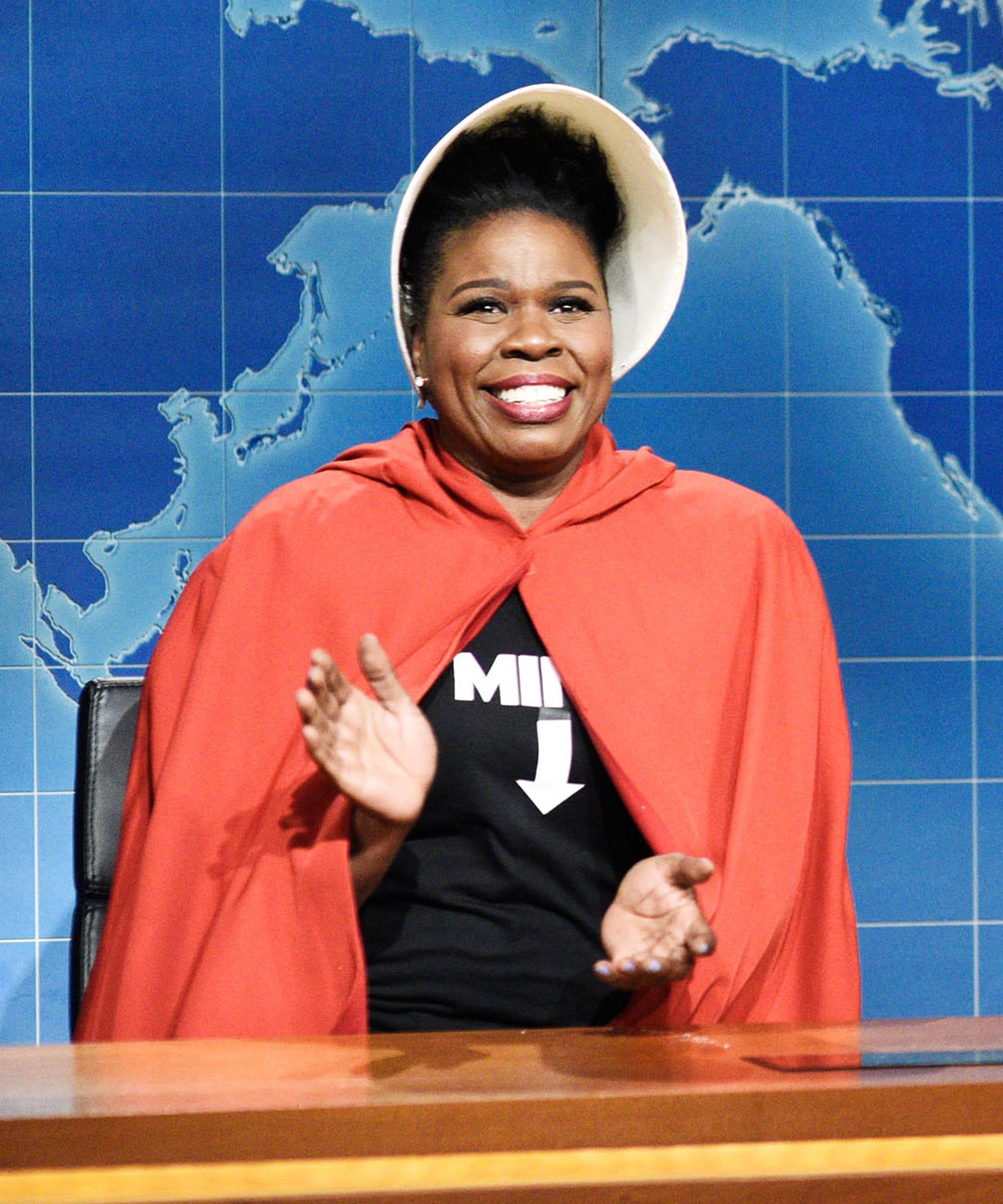 SNL's Leslie Jones Will Not Be A Handmaid For Anti-Abortion White Men