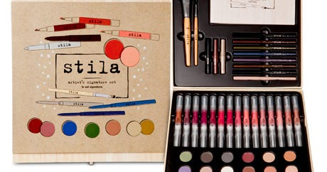 Stila's Holiday Collection Will Make You Feel Like A Real Artist