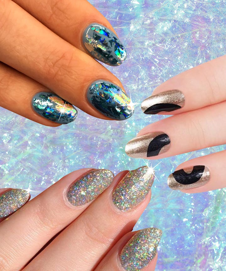 Party Nails Holiday Manicure Ideas Paintbox Wahnails