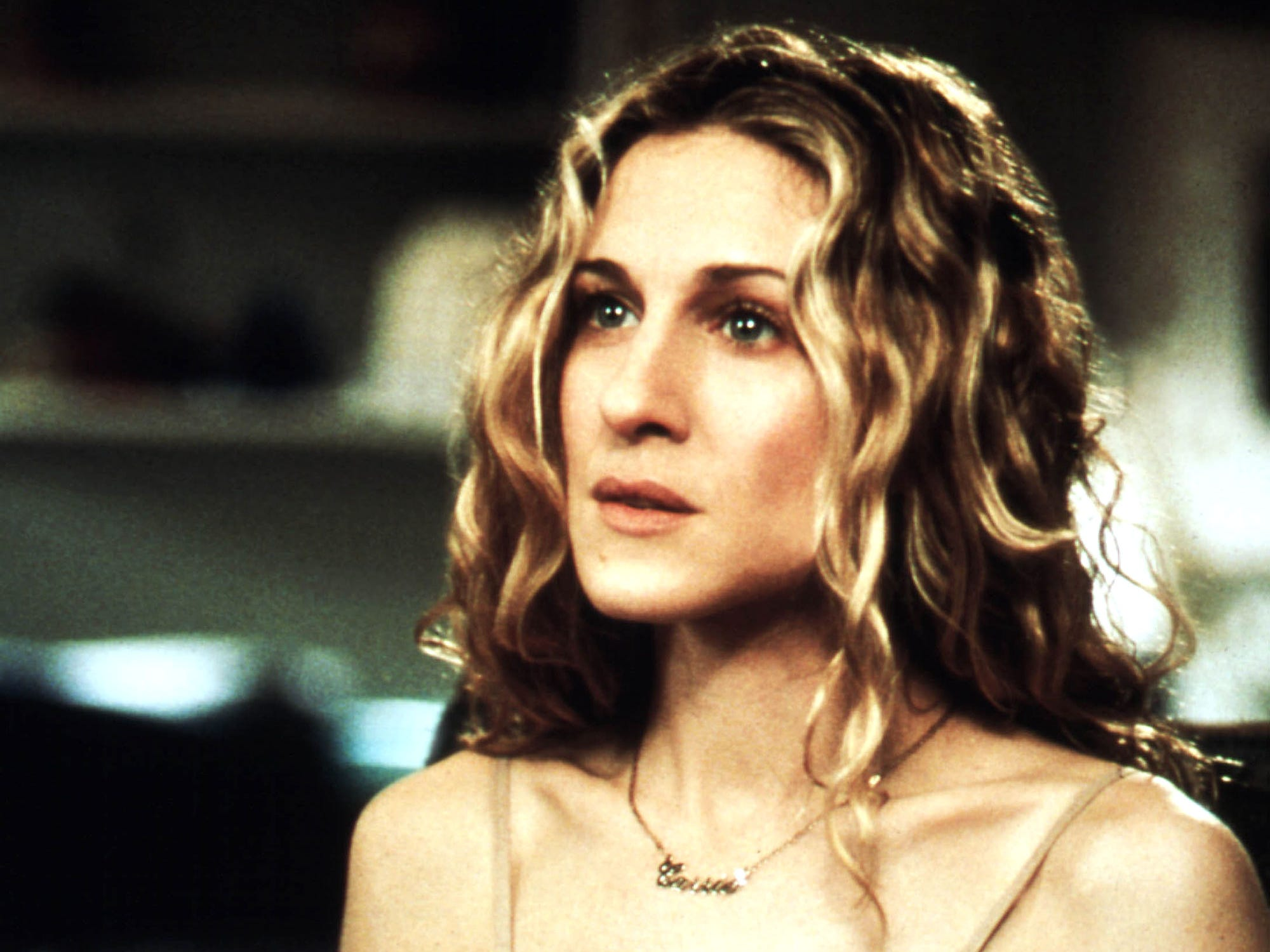 Carrie necklace in sex and the city