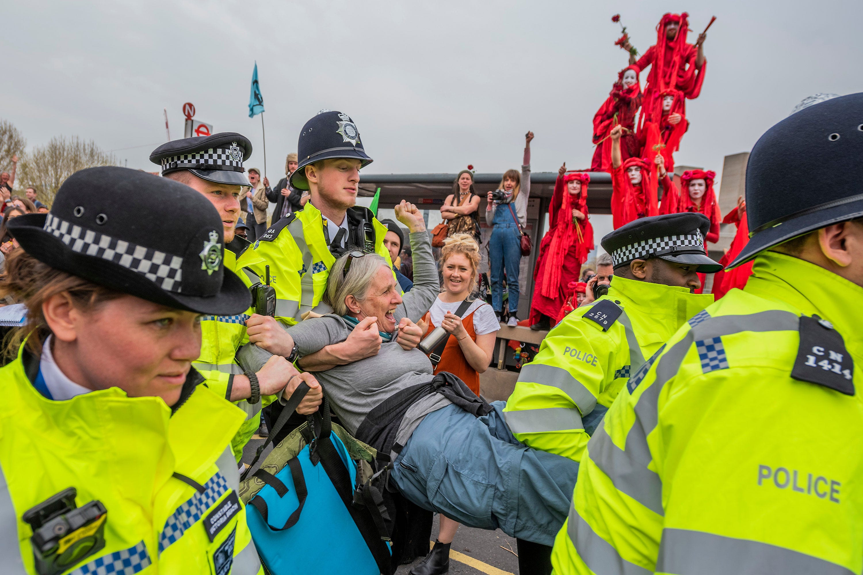 I'm The 64 Year Old Granny Who Was Arrested At The Climate Change Protests