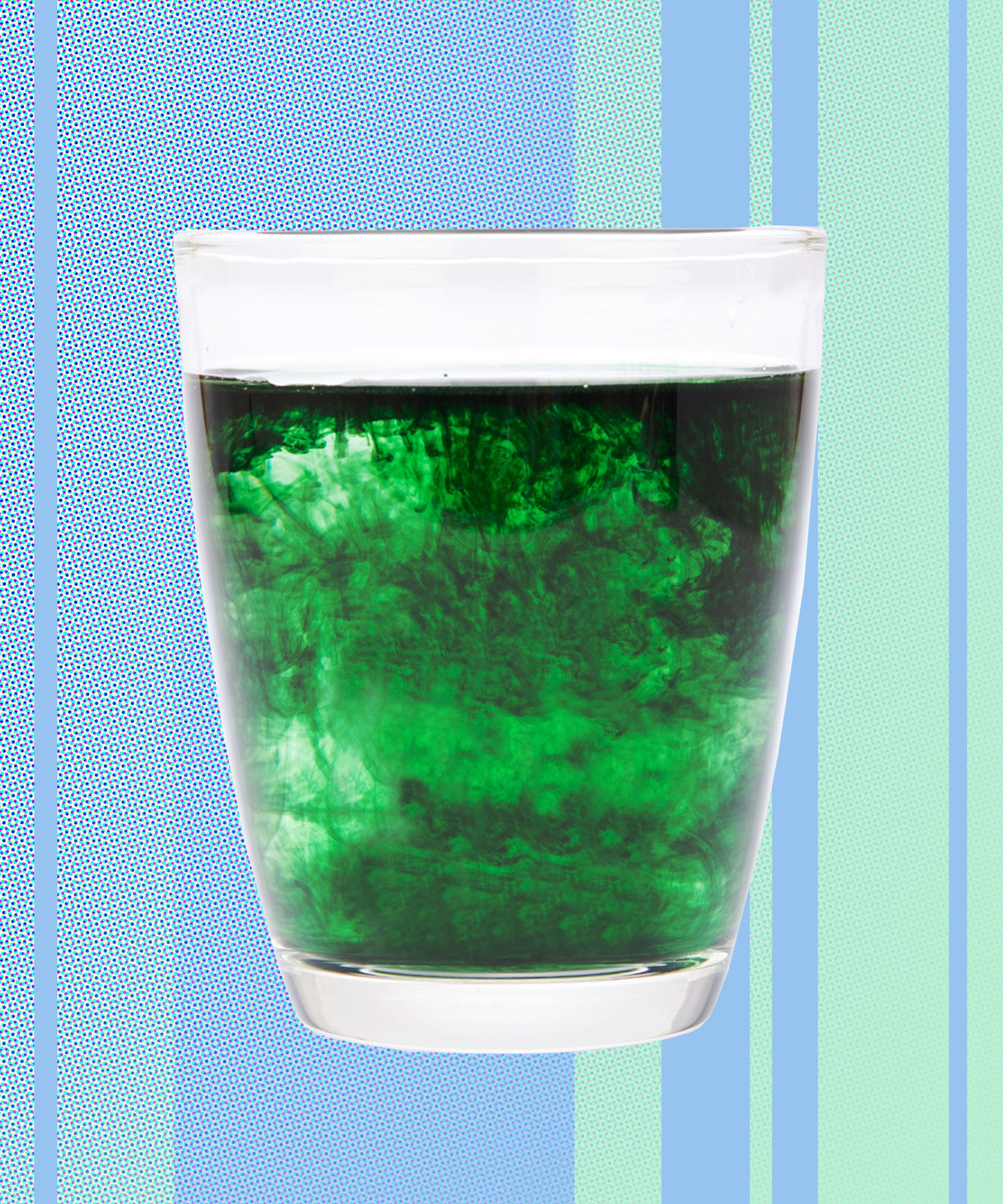 Can Chlorophyll Water Give You Energy, Clear Your Skin, & Save The Earth?