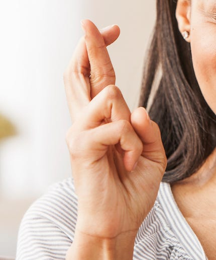 The Surprising History Behind The Double Meaning Of Crossing Our Fingers