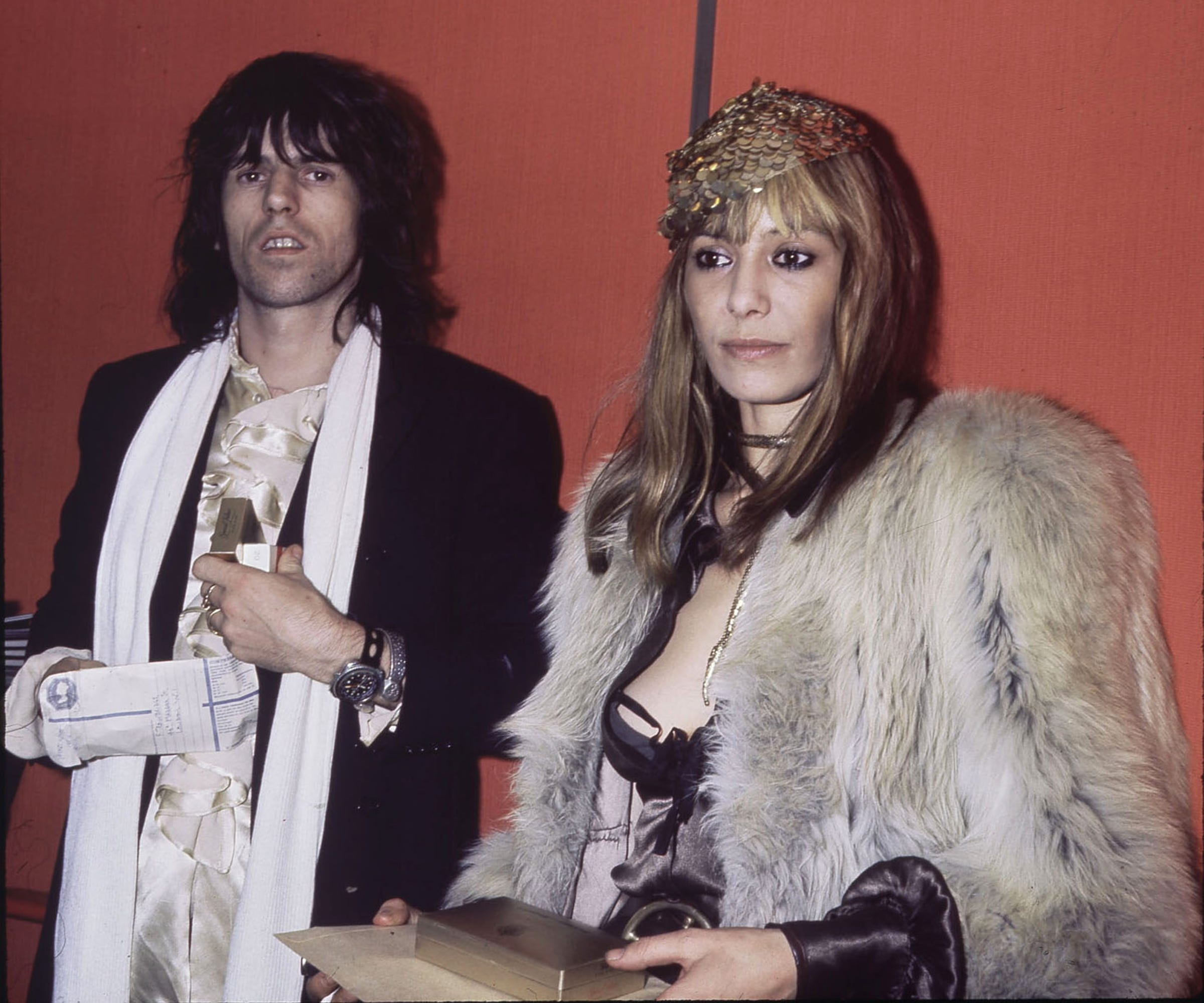 Anita Pallenberg Keith Richards Daughters Wedding.Anita Pallenberg Life Fashion Style Icon Actress Death
