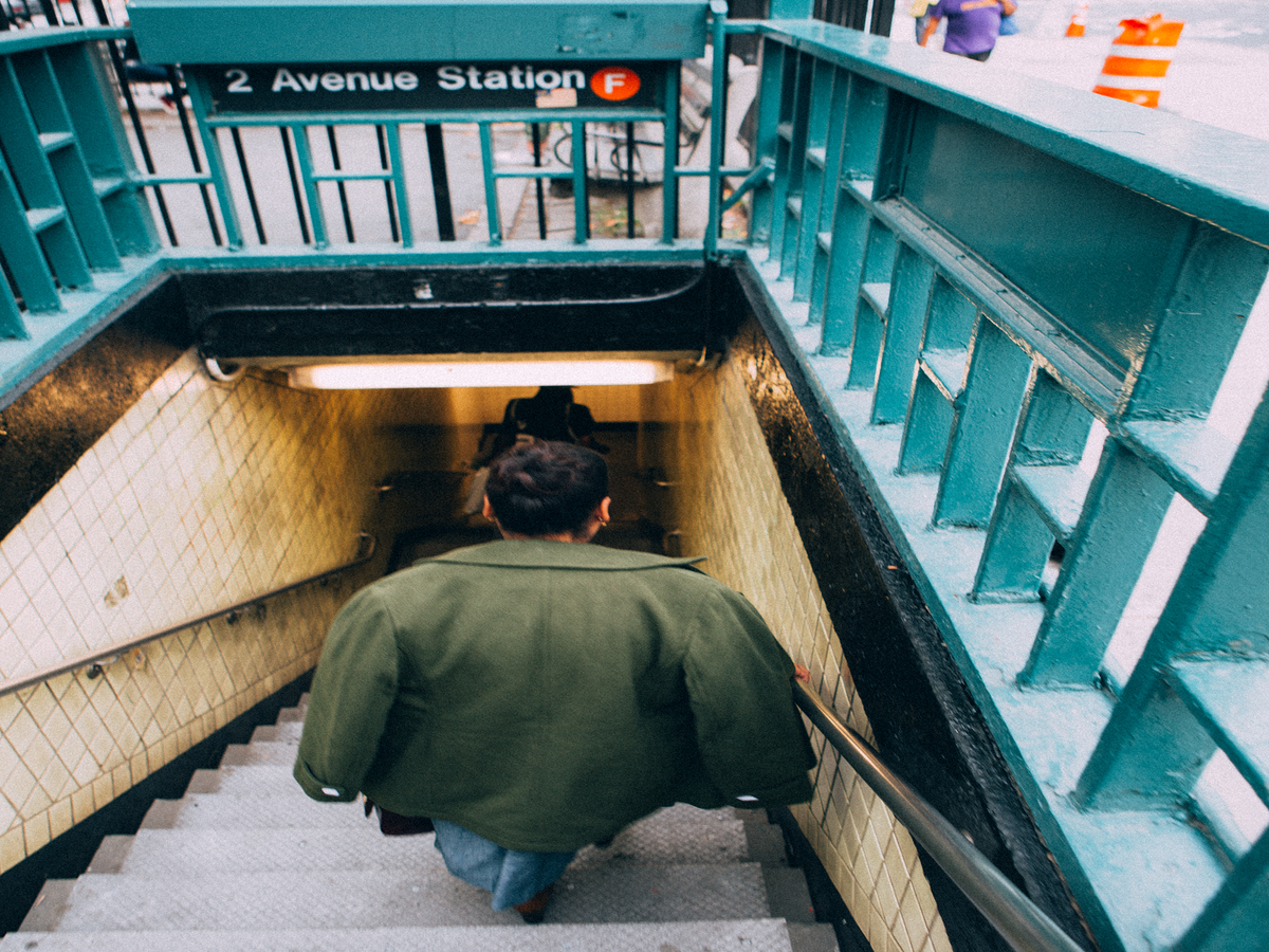 Why This Photo From An NYC Subway Train Is Going Viral