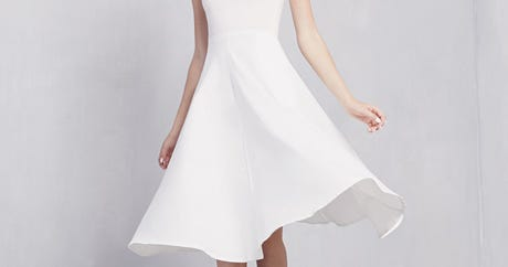 13 White T-Shirt Dresses We're Crushing Hard