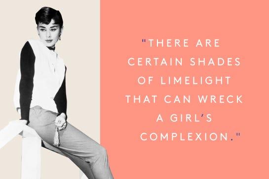 Audrey Hepburn Birthday Inspirational Quotes