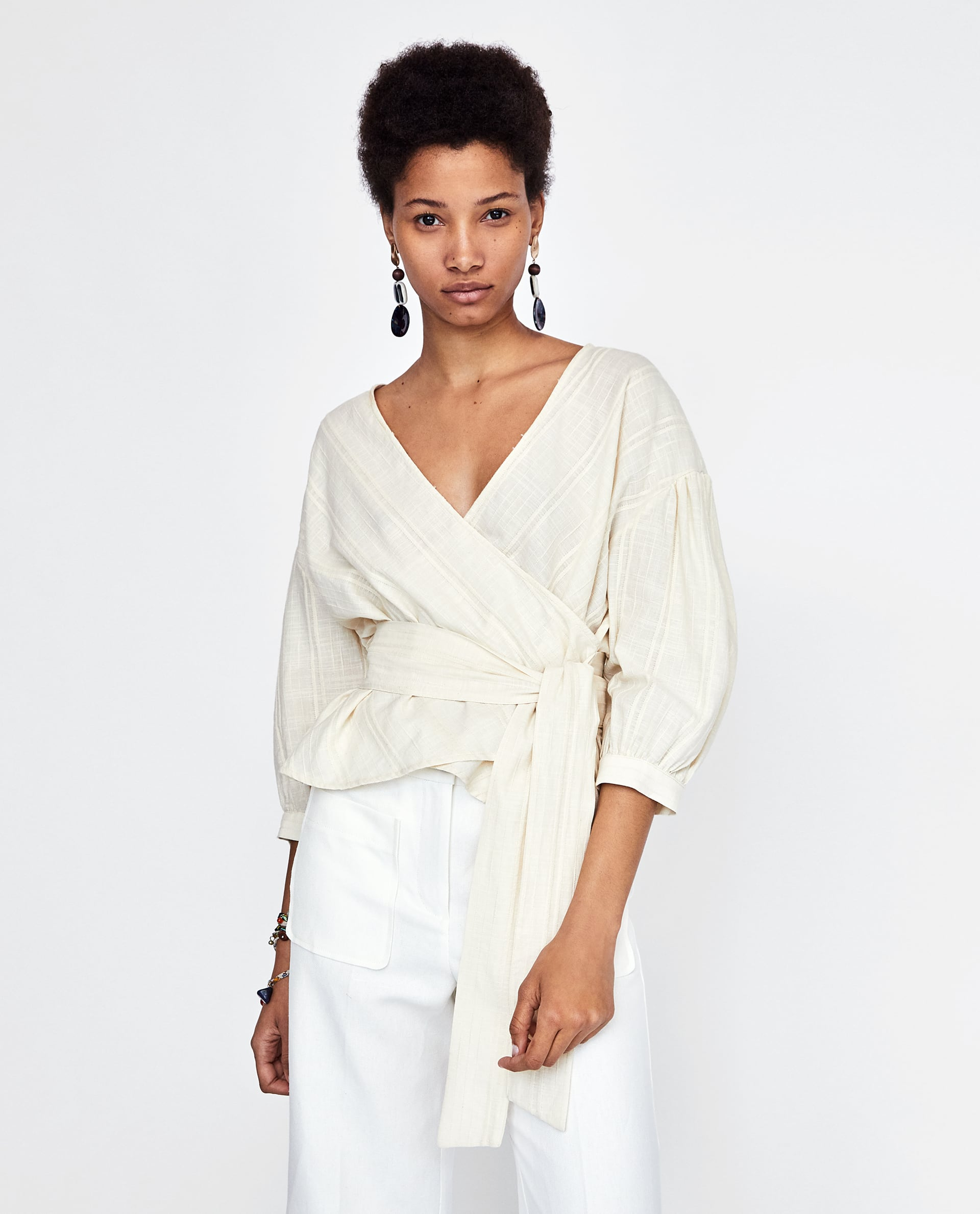 f21b98664e Wrap Tops Are The Easiest Trend You'll Wear All Summer