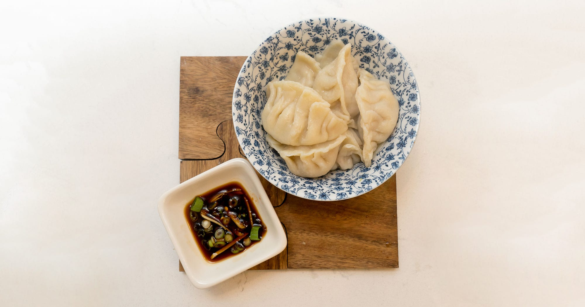 The Dumpling Recipe I Learned From My Mom & My Ex