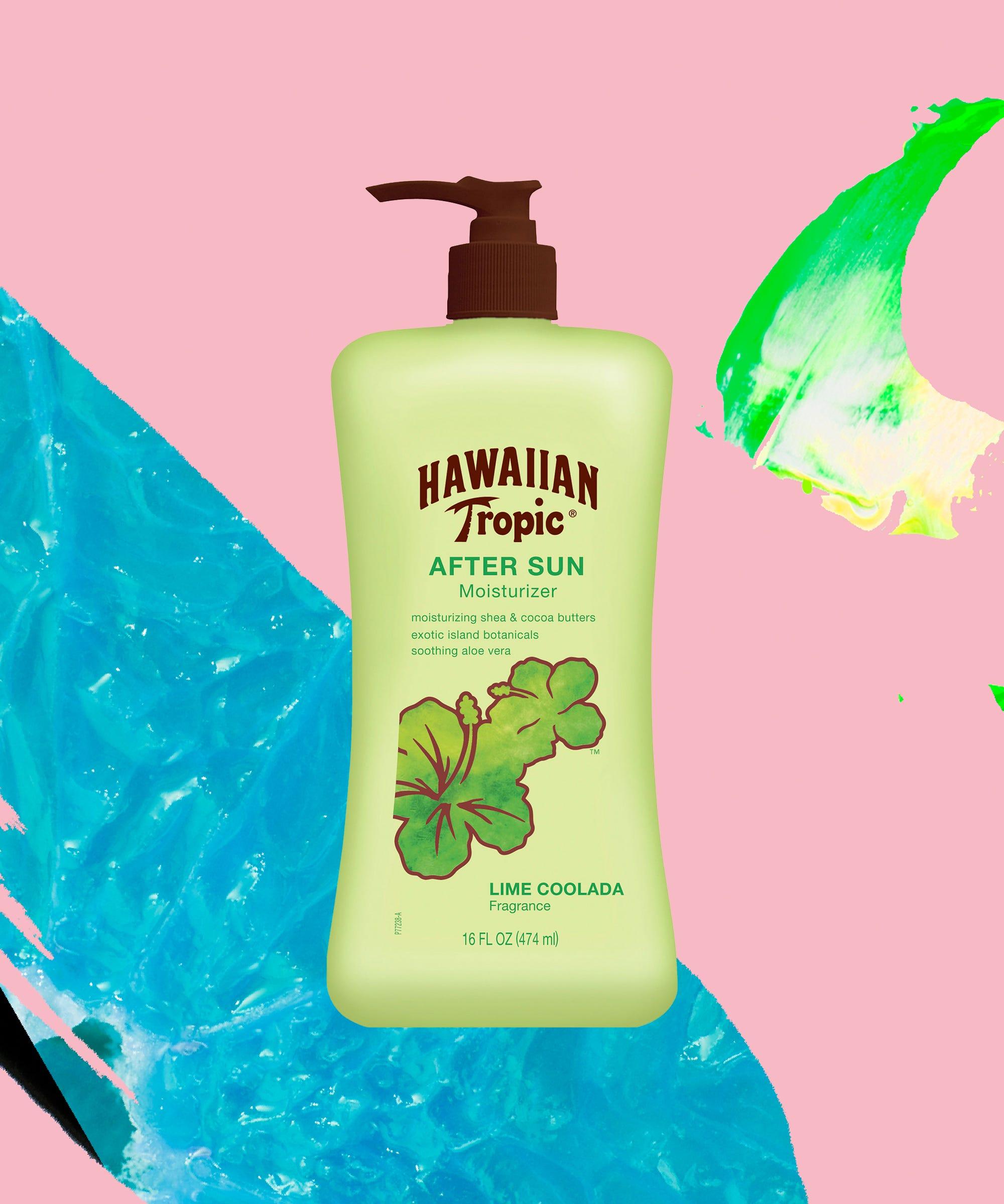 Lime Coolada After Sun Moisturizer Green by Hawaiian Tropic #4