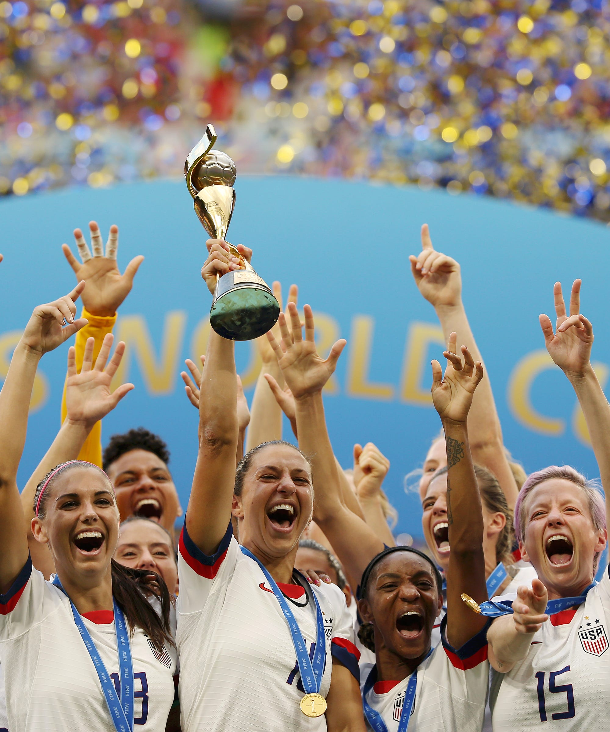 The Women's World Cup Was Dominated By The U.S. & Everyone From AOC To Leslie Jones Is Demanding Equal Pay Now