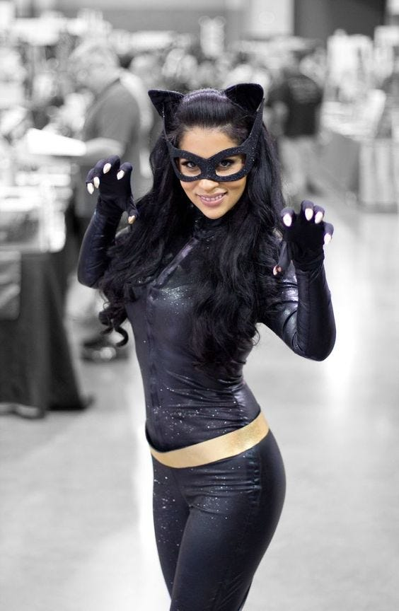 Sexy Catwoman Costume Photos Diy Halloween Ideas