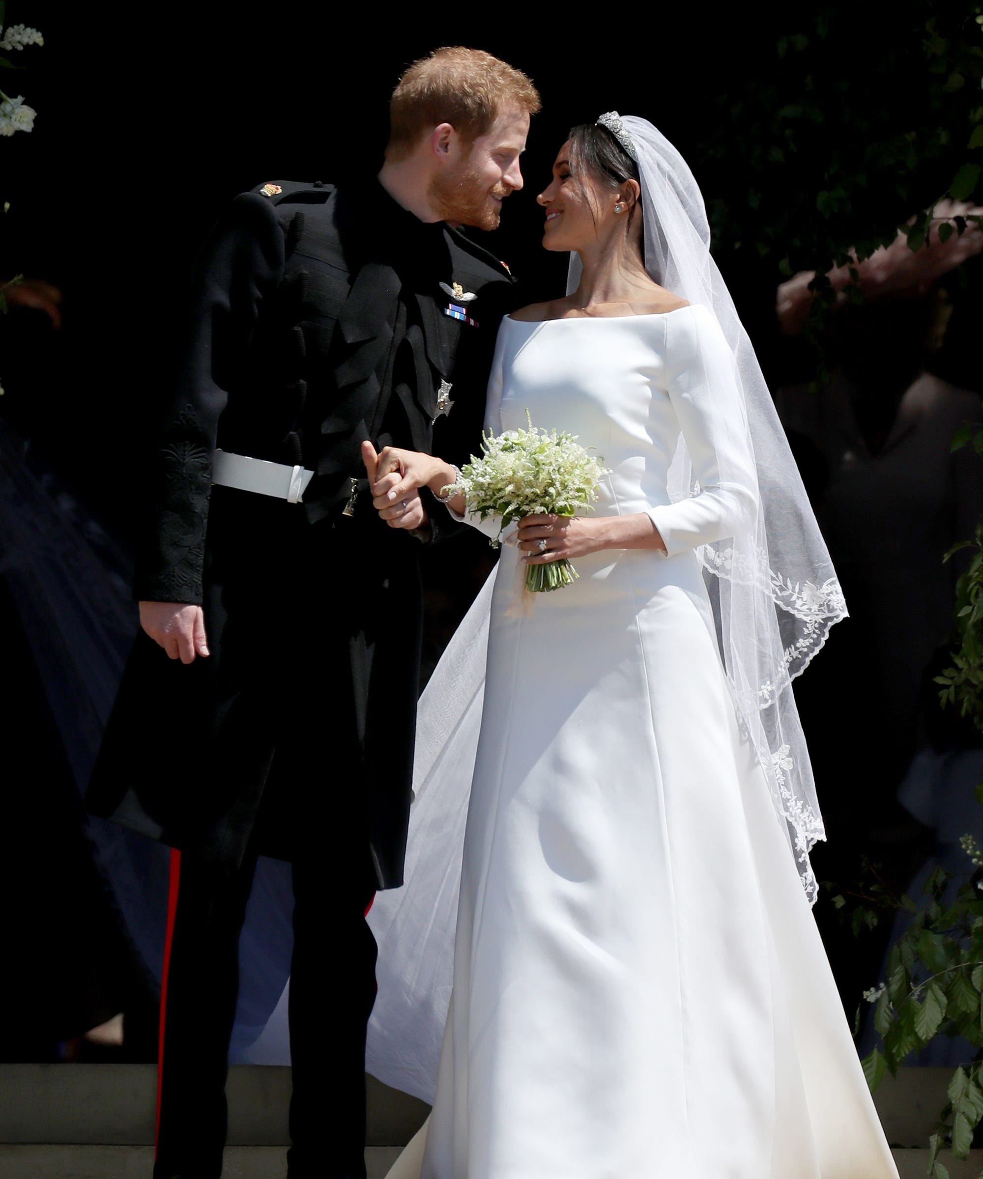 Meghan & Harry Have A First Anniversary Gift For Us Commoners: Never-Before-Seen Royal Wedding Photos