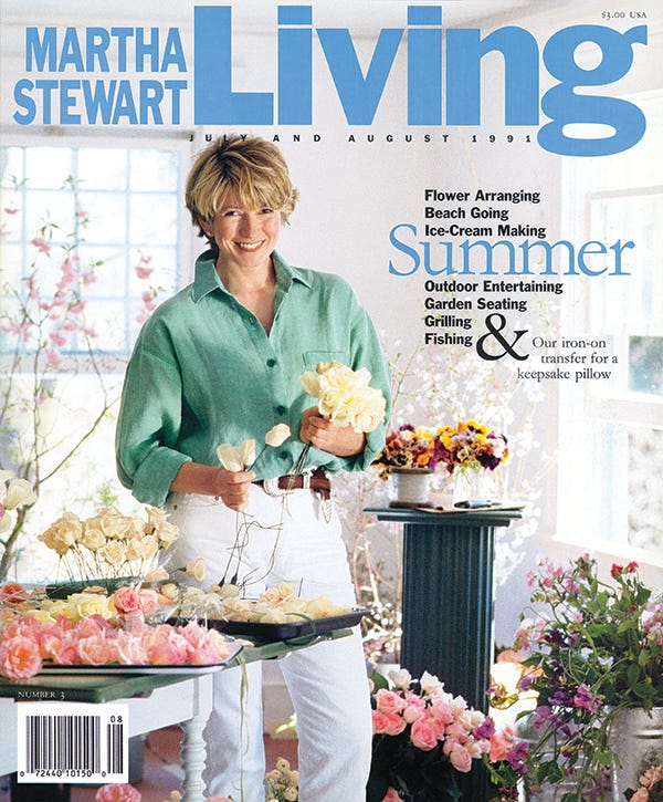 martha stewart living magazine 25th anniversary
