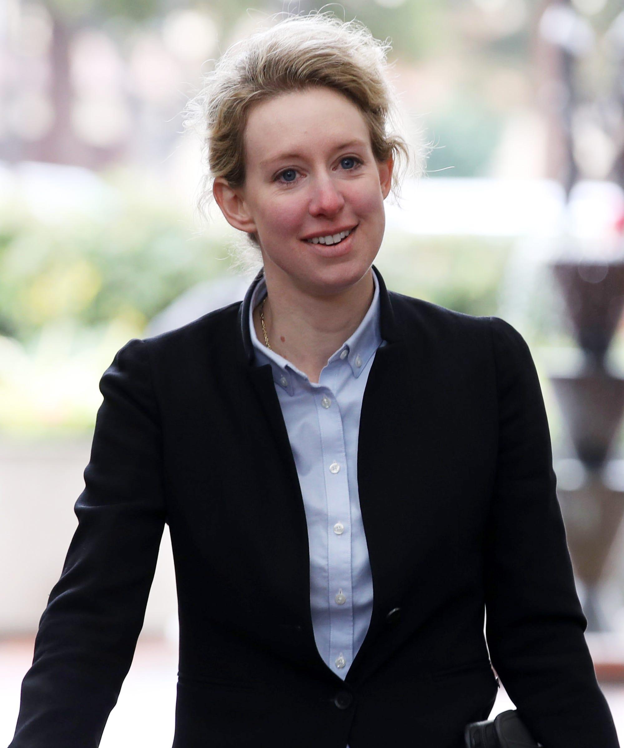 Spotted: Elizabeth Holmes Didn't Wear A Black Turtleneck In Court