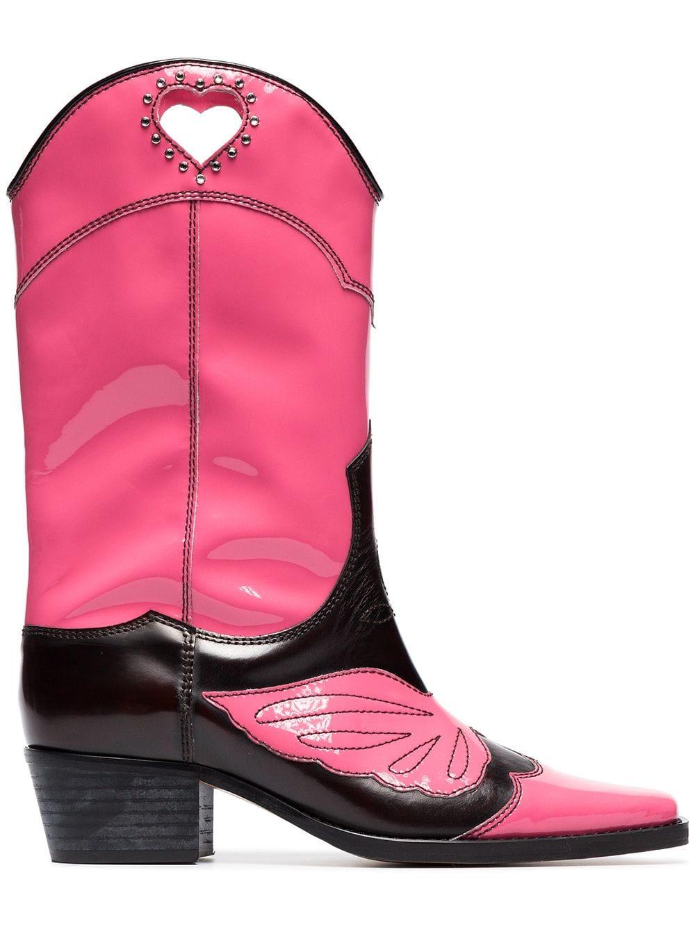 422b299a697 Marlyn 45 Leather Cowboy Boots