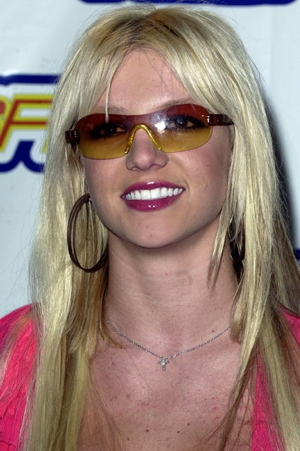 ef879e44b6 J Lo Neon Color Tint 90s Sunglasses Trend Paris Hilton