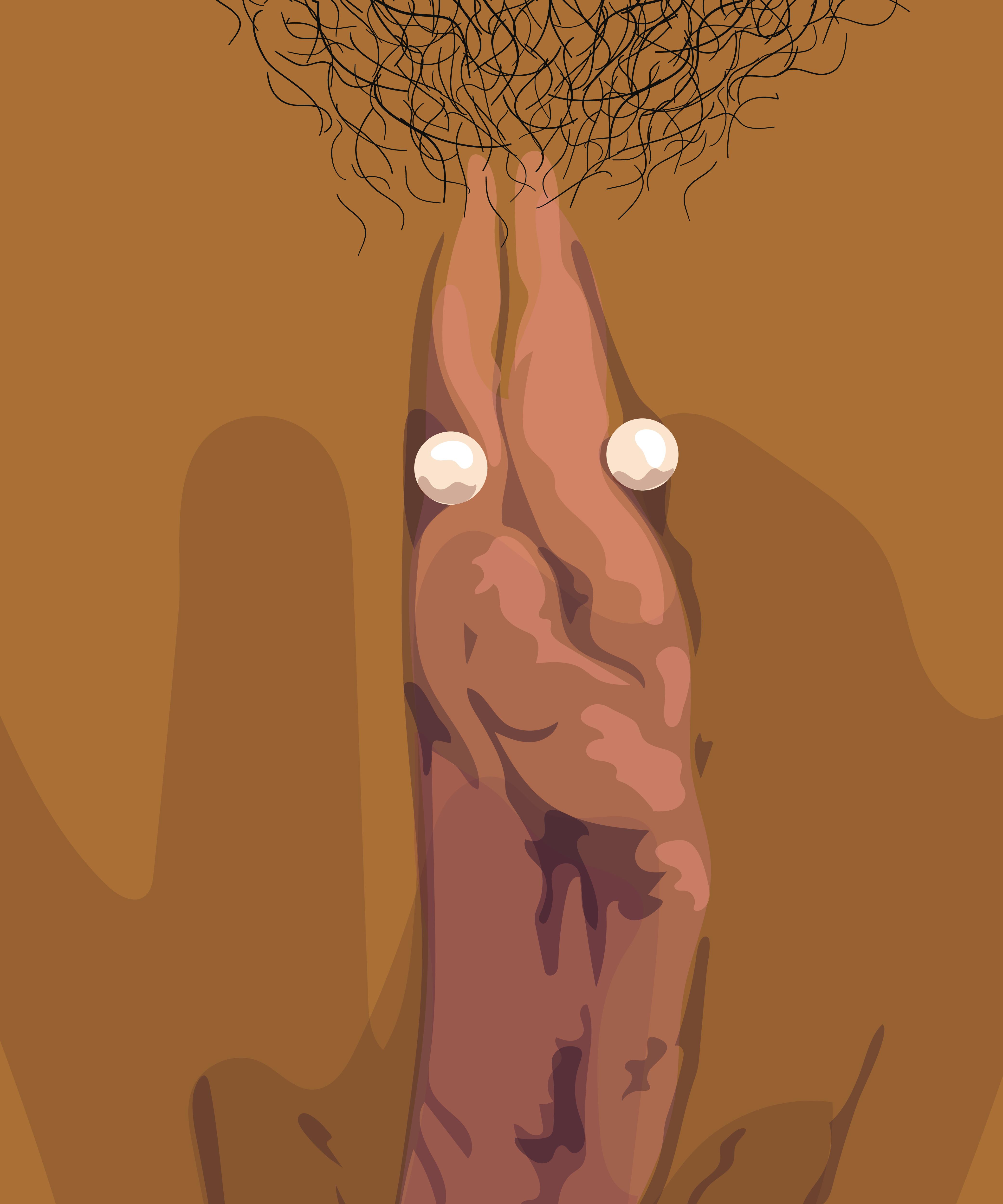 Nude egyptian goddess s