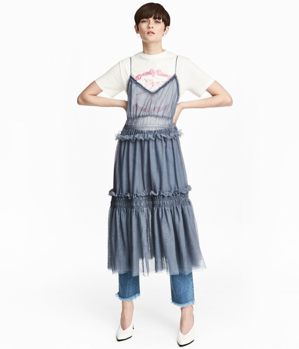 bb43842b9d Tulle Skirt Trend Spring 2017 - Topshop, Molly Goddard