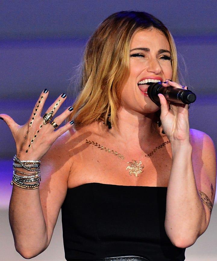 idina menzel songs broadway shows best performances
