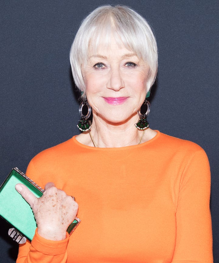 Helen Mirren Says Microblading Boosted Her Confidence