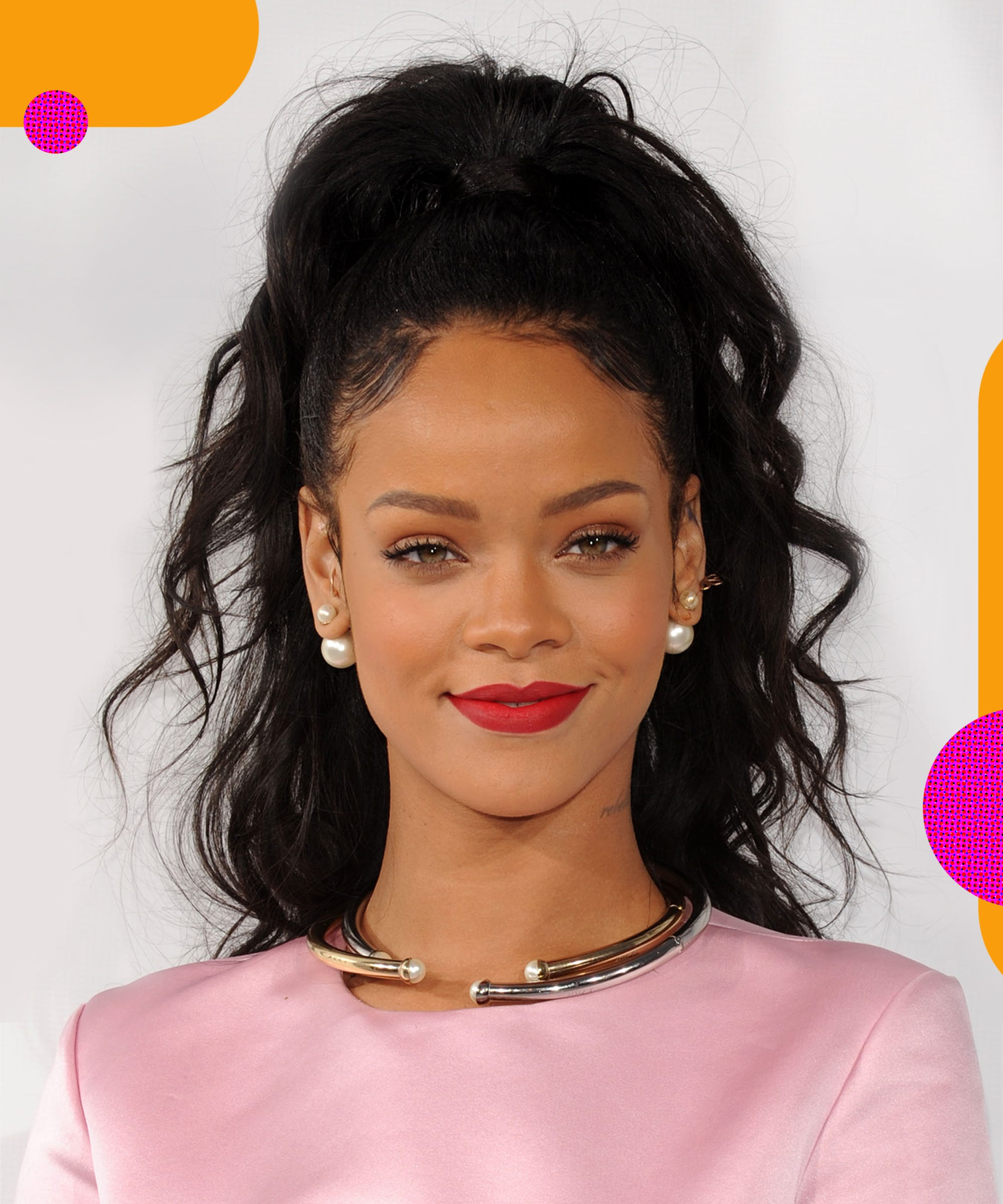 Rihanna On British Vogue Cover With Super Thin Eyebrows