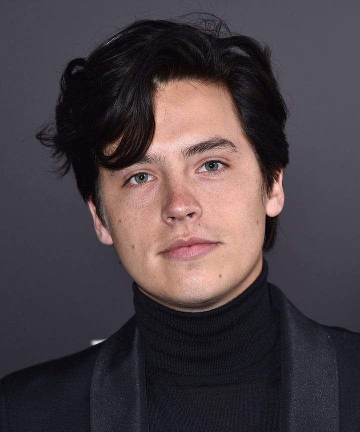 Cole sprouse had sex