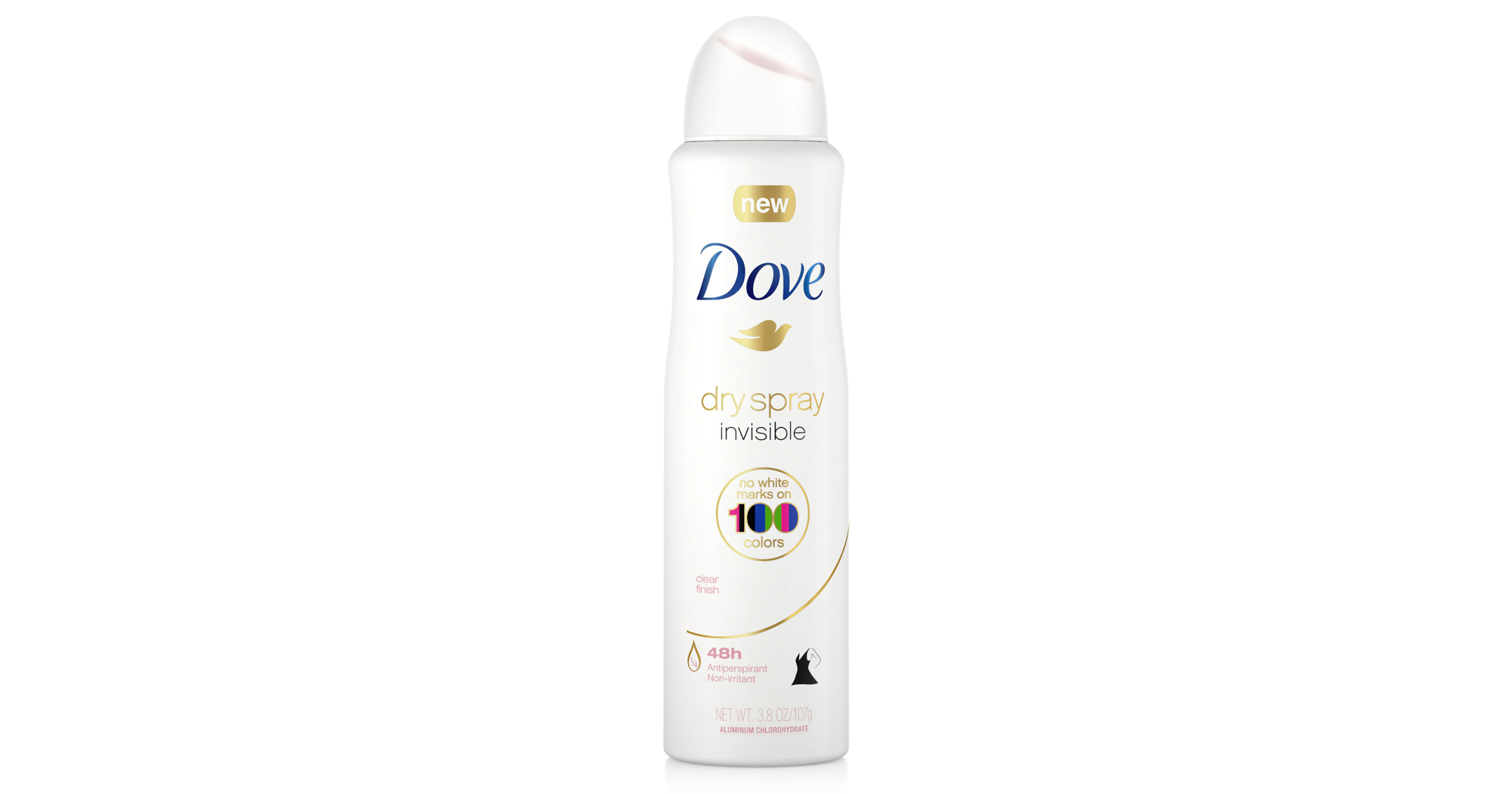Dove New Deo Deodorant No White Marks Yellow Stains