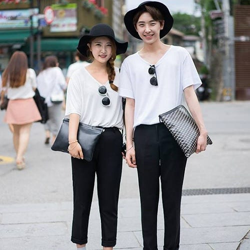 b30aa589d3 Matching Couples Outfits - Asian Street Style Trends